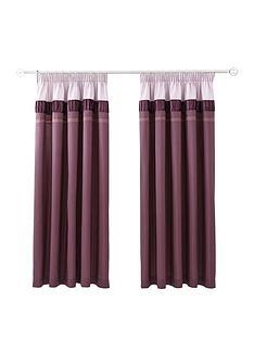 velvet-panel-lined-pencil-pleat-curtains