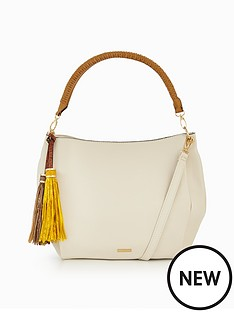 aldo-lowell-tassle-detail-shoulder-bag