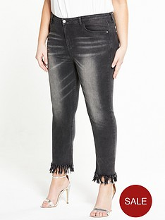 alice-you-frayed-hem-jean-black