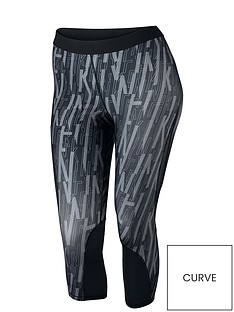 nike-pro-hypercoolnbspcapri-tight-plus-sizenbsp