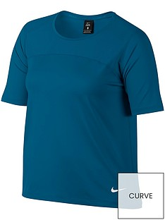 nike-pro-hypercoolnbspshort-sleeved-top-plus-sizenbsp