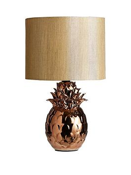 Pineapple table lamp littlewoods aloadofball Choice Image