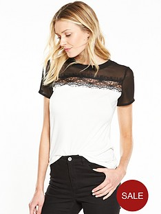 v-by-very-lace-trim-tee