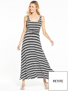 v-by-very-petite-stripe-ruche-maxi-dress