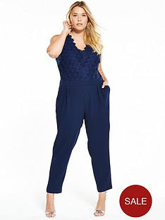 v-by-very-curve-curve-lace-top-tapered-leg-jumpsuit-navy