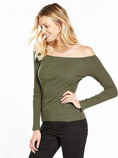 v-by-very-long-sleeve-rib-bardotnbsptop