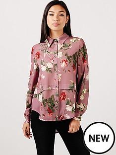 girls-on-film-tulip-print-chiffon-shirt