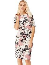 Ss Floral Midi Dress