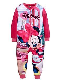 minnie-mouse-girls-fleece-sleepsuit