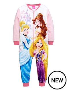 disney-princess-girls-fleece-sleepsuit