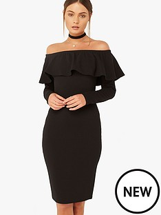 girls-on-film-girls-on-film-bardot-ruffle-midi-dress