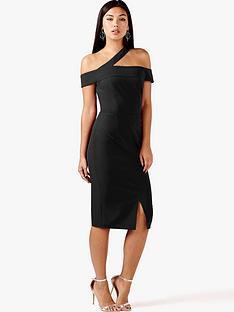 girls-on-film-one-shoulder-split-midi-dress-black