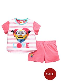 minions-girls-short-pyjamas