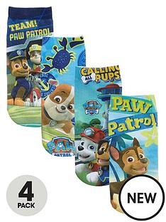 paw-patrol-paw-patrol-boys-pack-of-4-socks