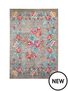 vintage-floral-rug