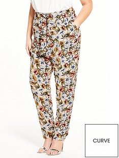 lovedrobe-lovedrobe-floral-printed-paper-bag-trousers