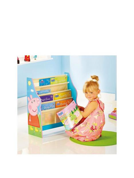 peppa-pig-kids-sling-bookcase