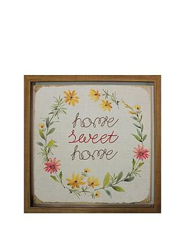 Arthouse Home Sweet Home Framed Picture