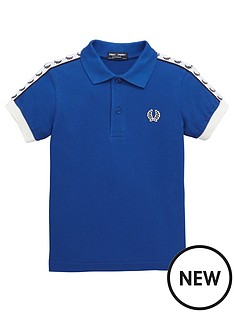 fred-perry-taped-polo