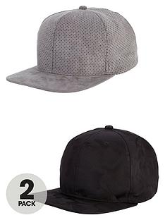 v-by-very-mens-2-pack-caps-with-flat-peak