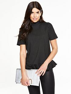 v-by-very-frill-hem-high-neck-top