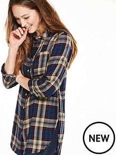 v-by-very-longline-check-shirt