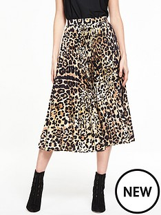 v-by-very-animal-pleat-skirt