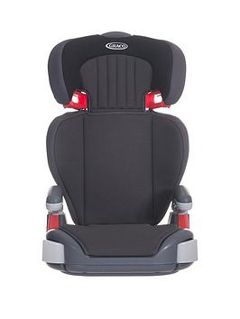 Graco Junior Maxi Group 23 Car Seat  Midnight Black