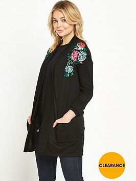 river-island-floral-embroidered-oversized-cardigan