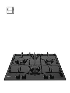 hotpoint-pcn642hbk-60cm-wide-built-in-hob-black