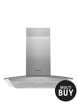 hotpoint-phgc65fabx-60cm-chimney-cooker-hood--nbspstainless-steel
