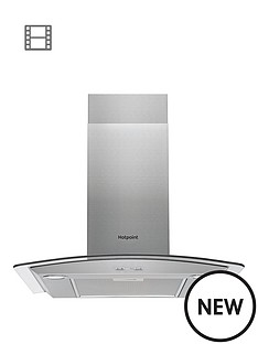 hotpoint-phgc65fabx-60cm-chimney-cooker-hood-black