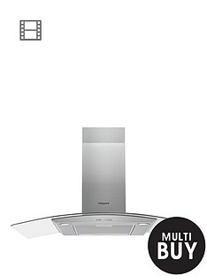 hotpoint-phgc95fabx-90cm-chimney-cooker-hood--nbspstainless-steel