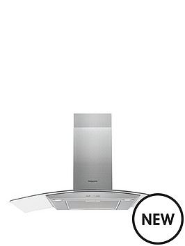 hotpoint-phgc95fabx-90cm-chimney-cooker-hood-black