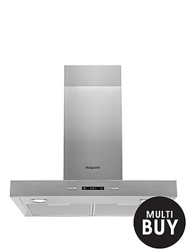hotpoint-phbs67fllix-60cm-chimney-cooker-hood-stainless-steel