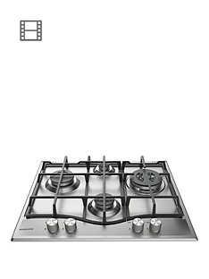 hotpoint-pcn641ixh-60cm-gas-hob-stainless-steel