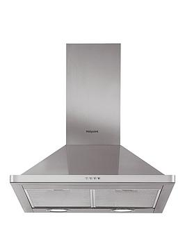 Hotpoint Phpn74Famx 70Cm Chimney Cooker Hood  Stainless Steel