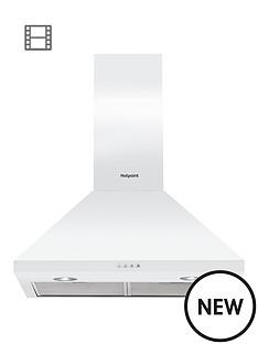 hotpoint-phpc64famw-60cm-chimney-cooker-hood-white