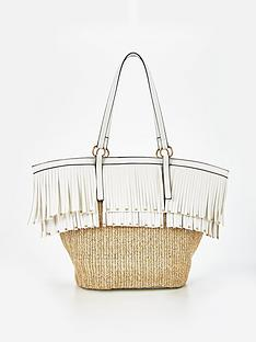 v-by-very-premium-fringed-beach-bag-whitenbsp