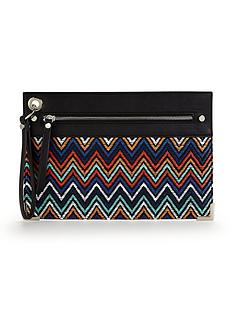 v-by-very-aztec-pattern-wristlet-clutch