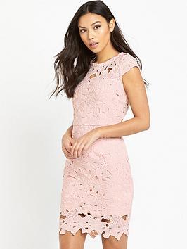 ax-paris-crotchet-mini-dress