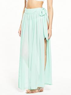 v-by-very-side-split-wrap-beach-maxi-skirt-bluenbsp
