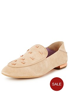 ted-baker-buijab-bow-suede-loafer-tan