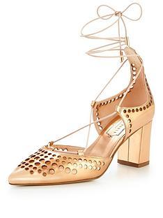 ted-baker-xarelnbspcaged-block-heel-shoe-rose-gold