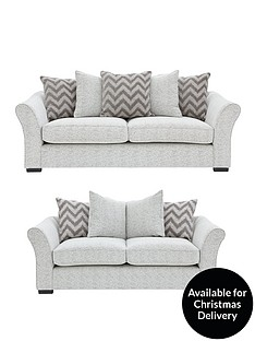 cavendish-chevron-3-seater-2-seaternbspfabric-sofa-set-buy-and-save