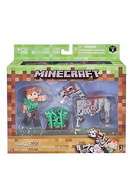 Minecraft Minecraft Alex &Amp Skeleton Pack