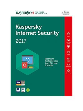 Kaspersky Internet Security 2017 (1 Device 1 Year)