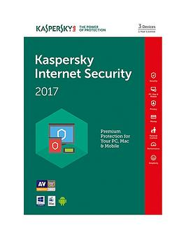Kaspersky Internet Security 2017 (3 Devices 1 Year)