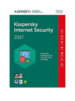 Kaspersky Internet Security 2017 (5 Devices 1 Year)