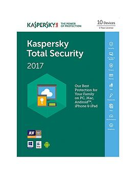 Kaspersky Total Security 2017 (10 Devices 1 Year)
